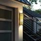 新中式LED户外壁灯 仿云石墙壁灯现代简约庭院道路灯外墙灯